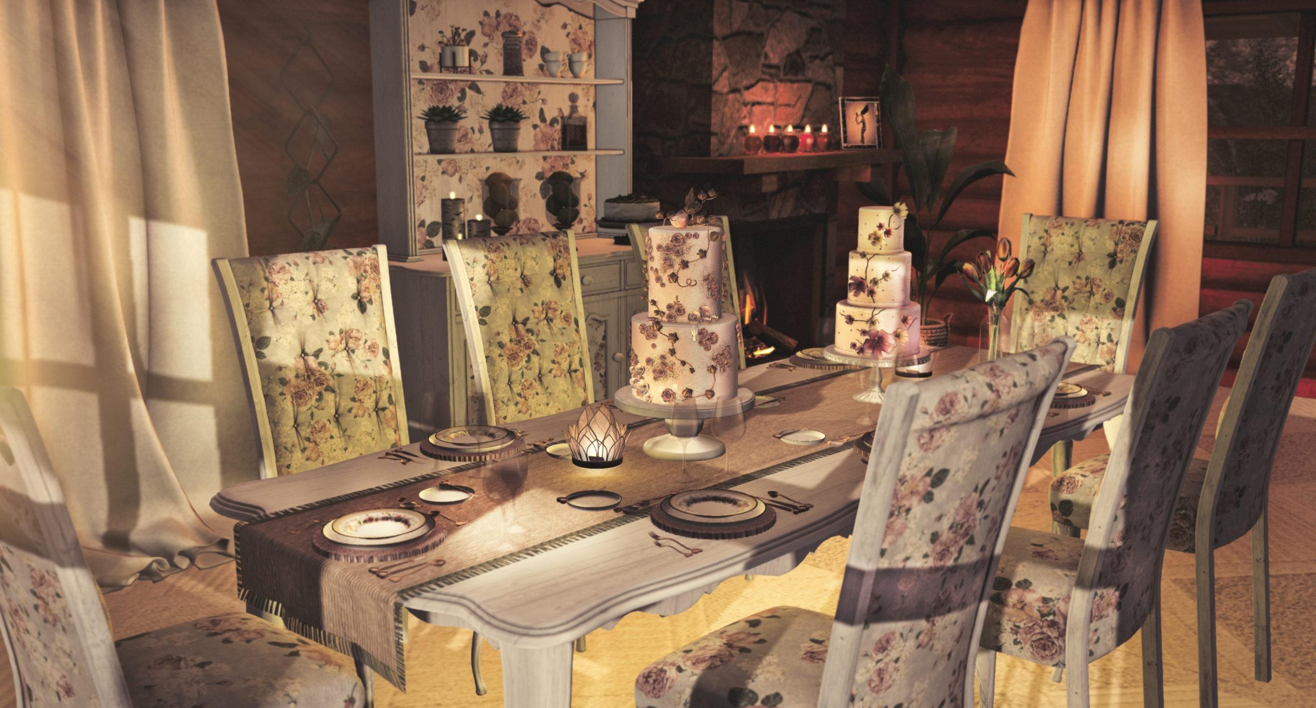 Aphrodite Shop - Shabby chic dining room