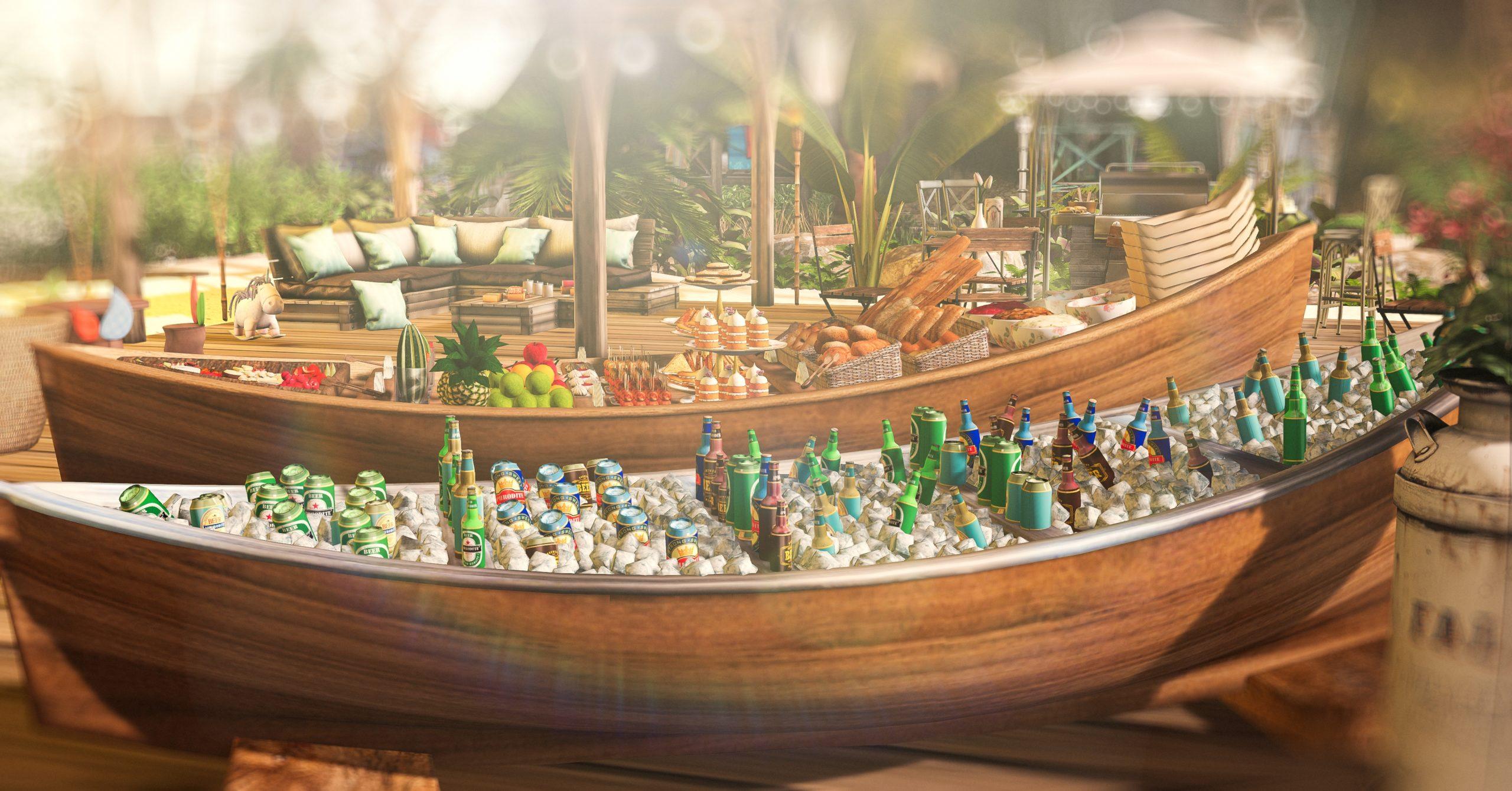 Aphrodite-Foodboat-Beerboat