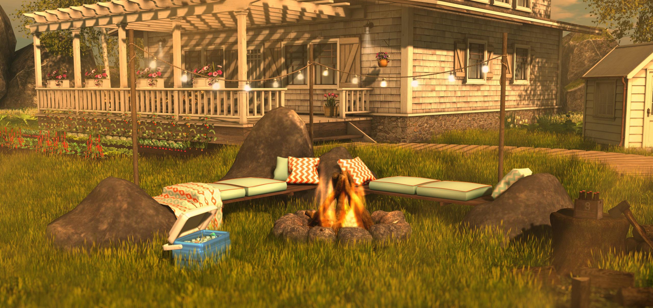 Goose - Campfire corner
