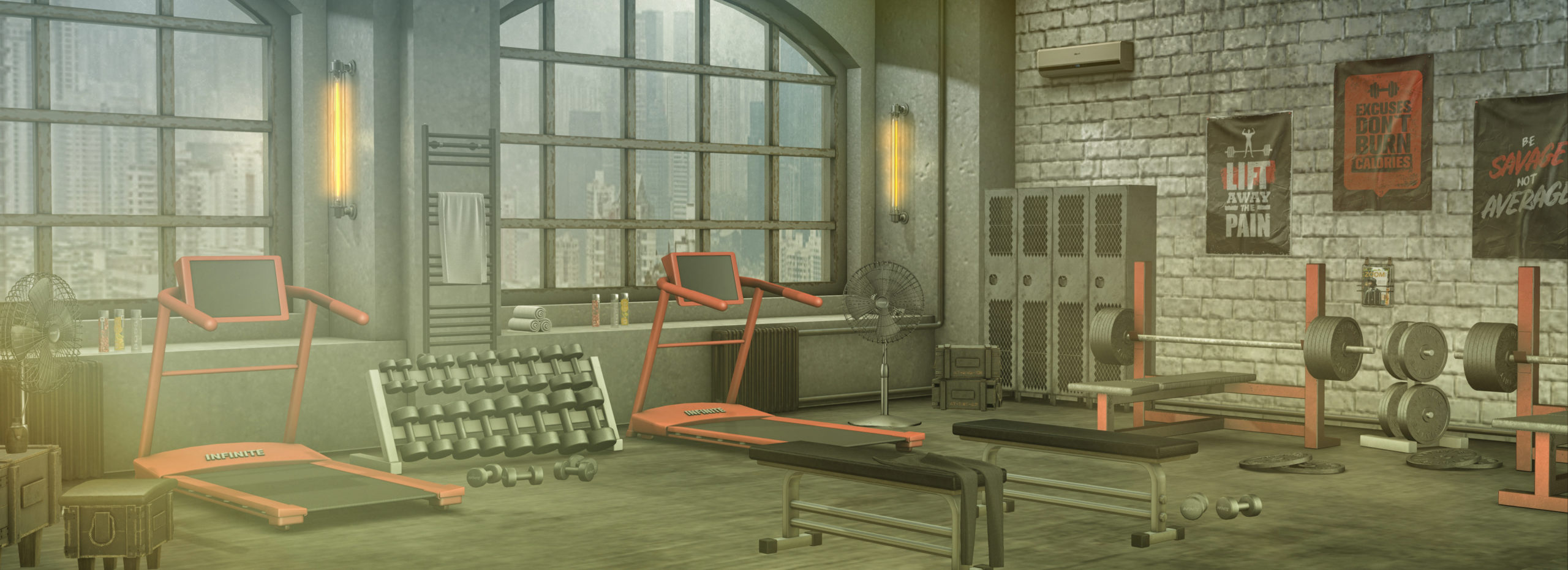 Infinite Furniture - Buck's Gym