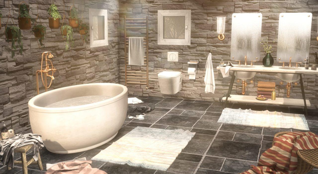 Halo Bathroom